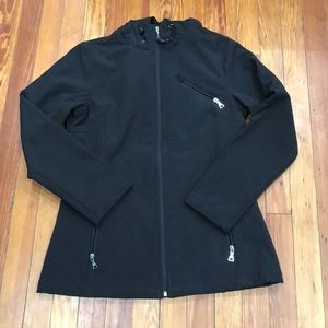Tommy Hilfiger black waterproof jacket